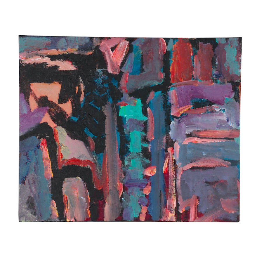 Leif Janek Abstract Acrylic Painting