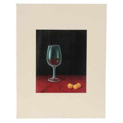 "Giclée after Andrei Bajanov ""Double Cherry"""