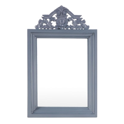 Painted Wood Venetian Style Wall Mirror