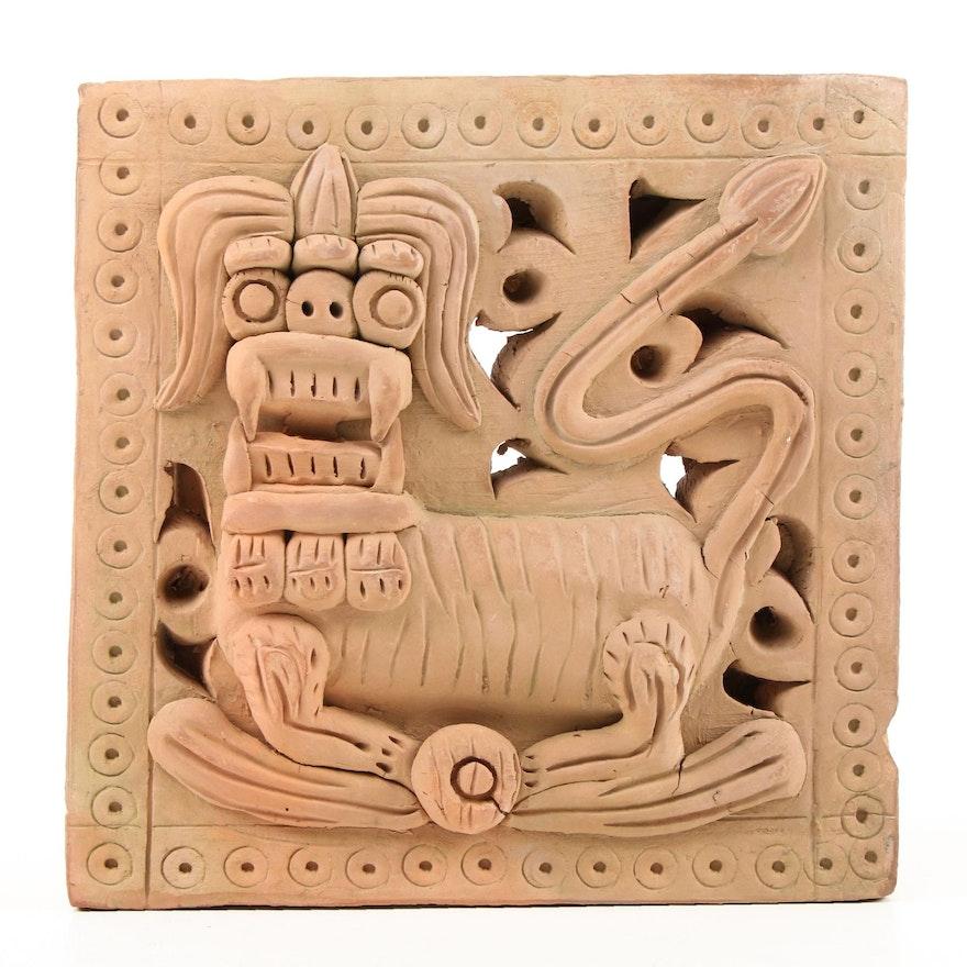 Mexican Zapotec Terracotta Animal Figural, Late 20th Century