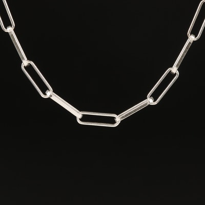 Italian Sterling Link Necklace