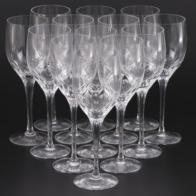 "Orrefors ""Prelude Clear"" Water Goblets with Other Stemware"
