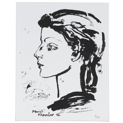 Murat Kaboulov Giclée of Portrait in Profile, 2002