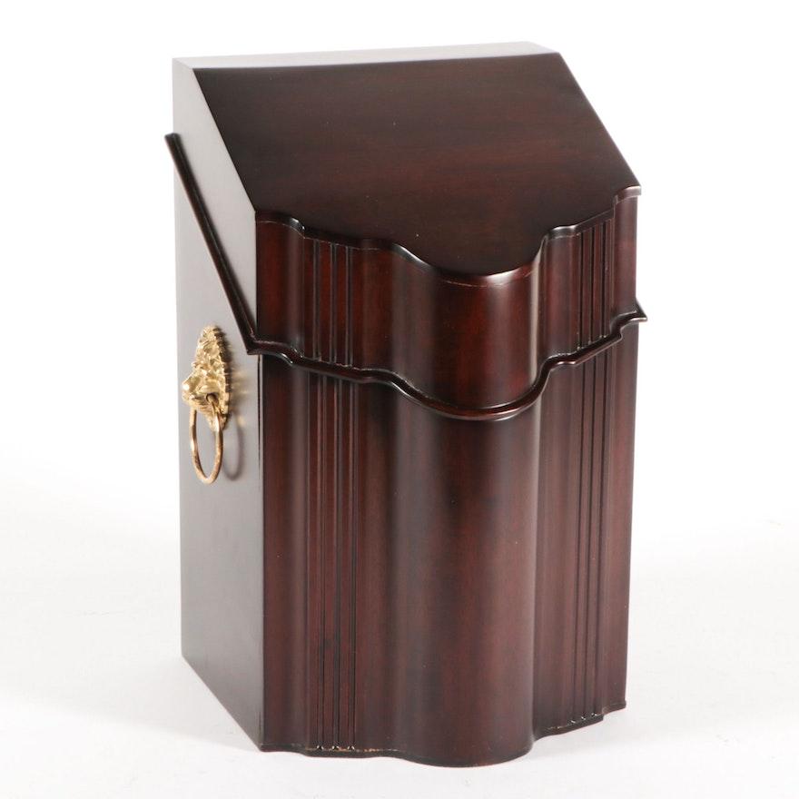 Selamat Designs Monticello Style Mahogany Cutlery Box