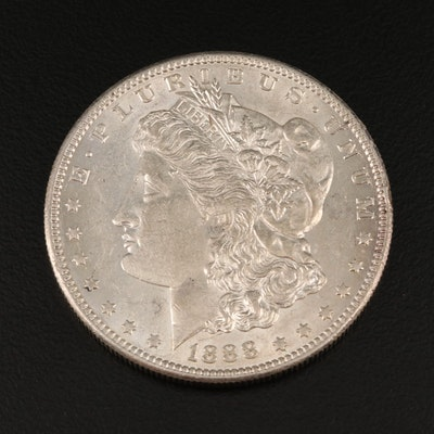 Better Date Lower Mintage 1888-S Morgan Silver Dollar