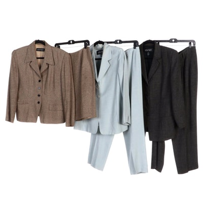 Linda Allard Ellen Tracy Pantsuits and Skirt Suit