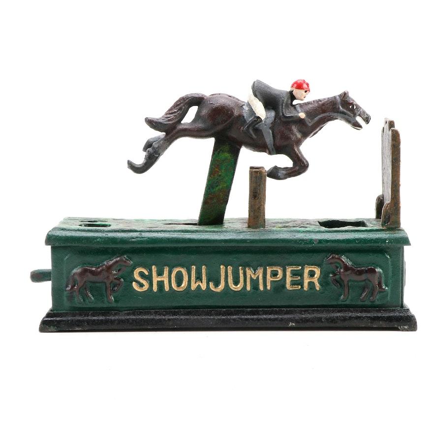 """""""Show Jumper"""" Cast Iron Bank"""