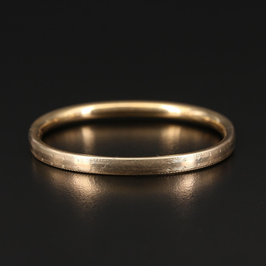 Vintage Gold-Filled Bracelet
