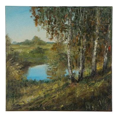 Garncarek Aleksander Oil Painting, 2020