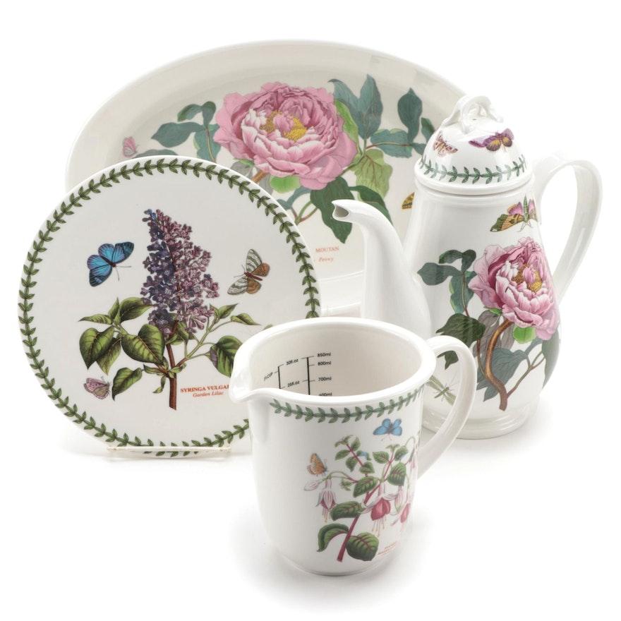 "Portmeirion ""The Botanic Garden"" Porcelain Serveware"