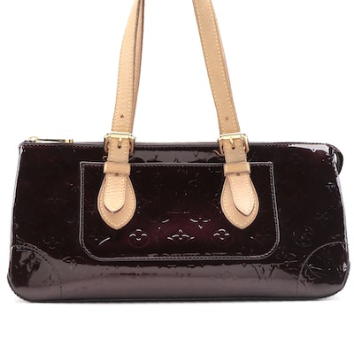 Louis Vuitton Rosewood Avenue in Amarante Vernis and Vachetta Leather
