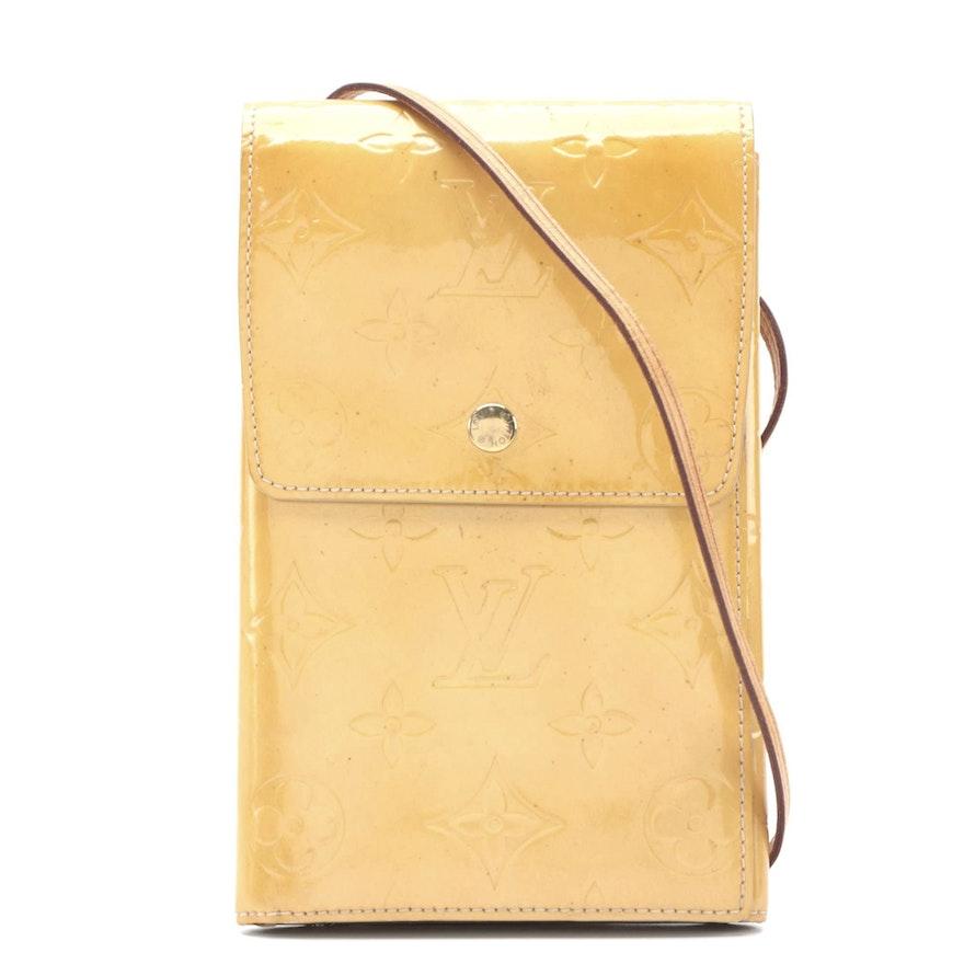 Louis Vuitton Kemare Crossbody Bag in Monogram Vernis