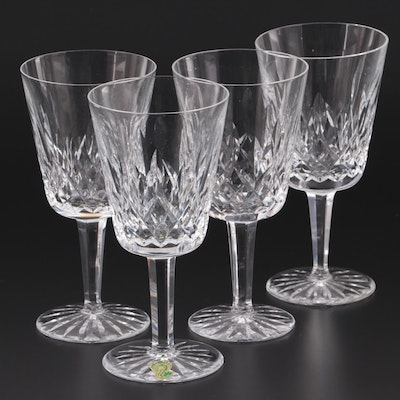 "Waterford ""Lismore"" Crystal Water Goblets"