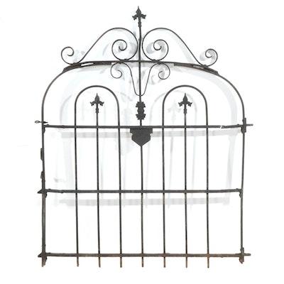 Cincinnati Iron Fence  Metal Gate, Early 20th Century