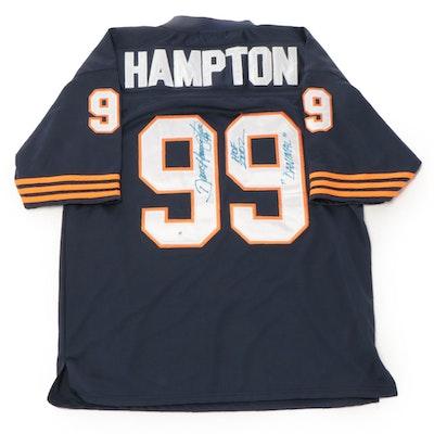 Dave Hampton Signed Chicago Bears Mitchell & Ness NFL Football Jersey, COA