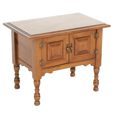 Colonial Revival Maple Cupboard, Late 20th Century