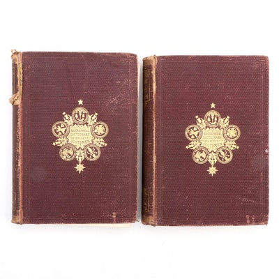 """Biographical Dictionary of Eminent Scotsman"" Vol. I–II by T. Thomson, 1868–1872"