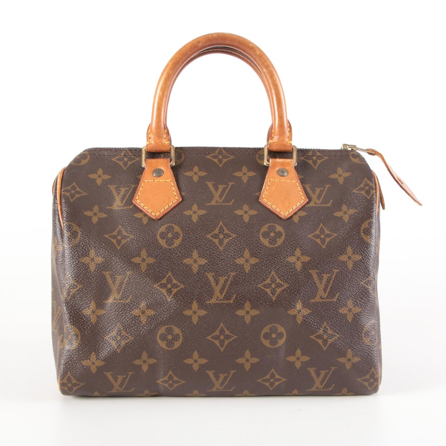 Louis Vuitton Speedy 25 in Monogram Canvas and Leather