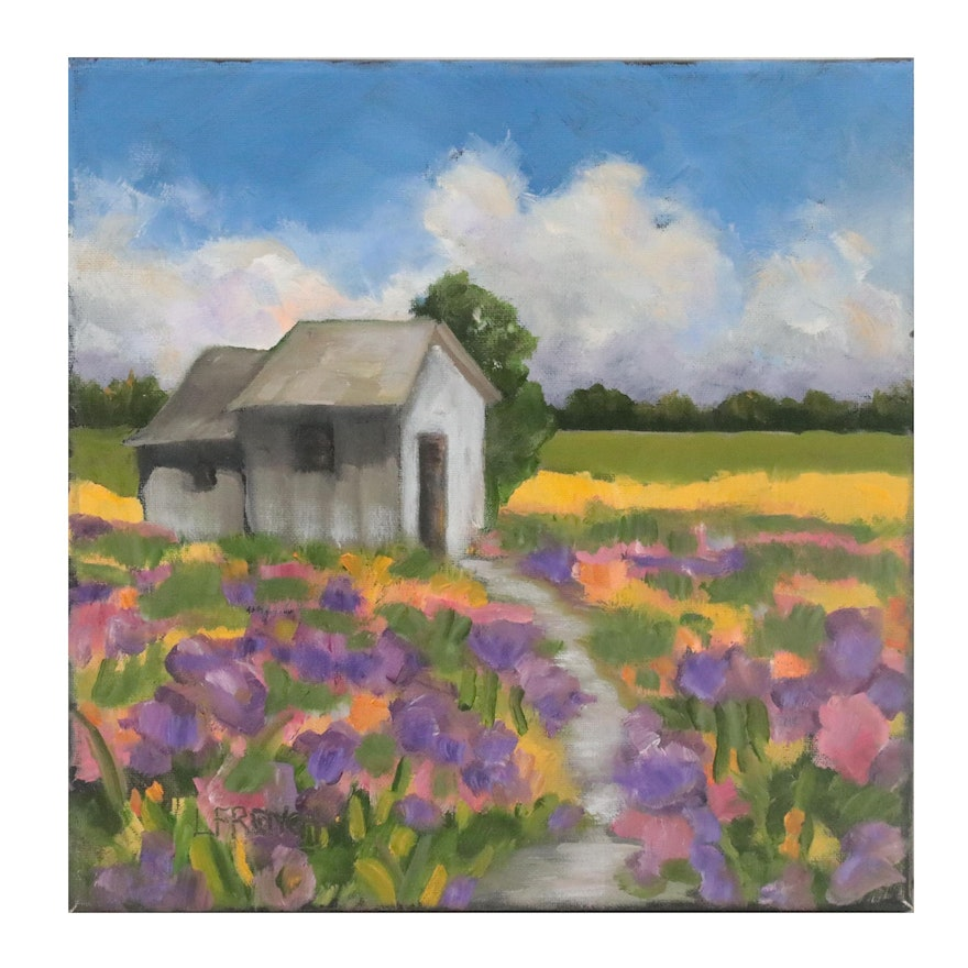Lynne French Landscape Oil Painting
