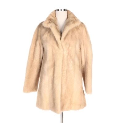 Palomino Mink Fur Stroller Coat From John Pappas Furs