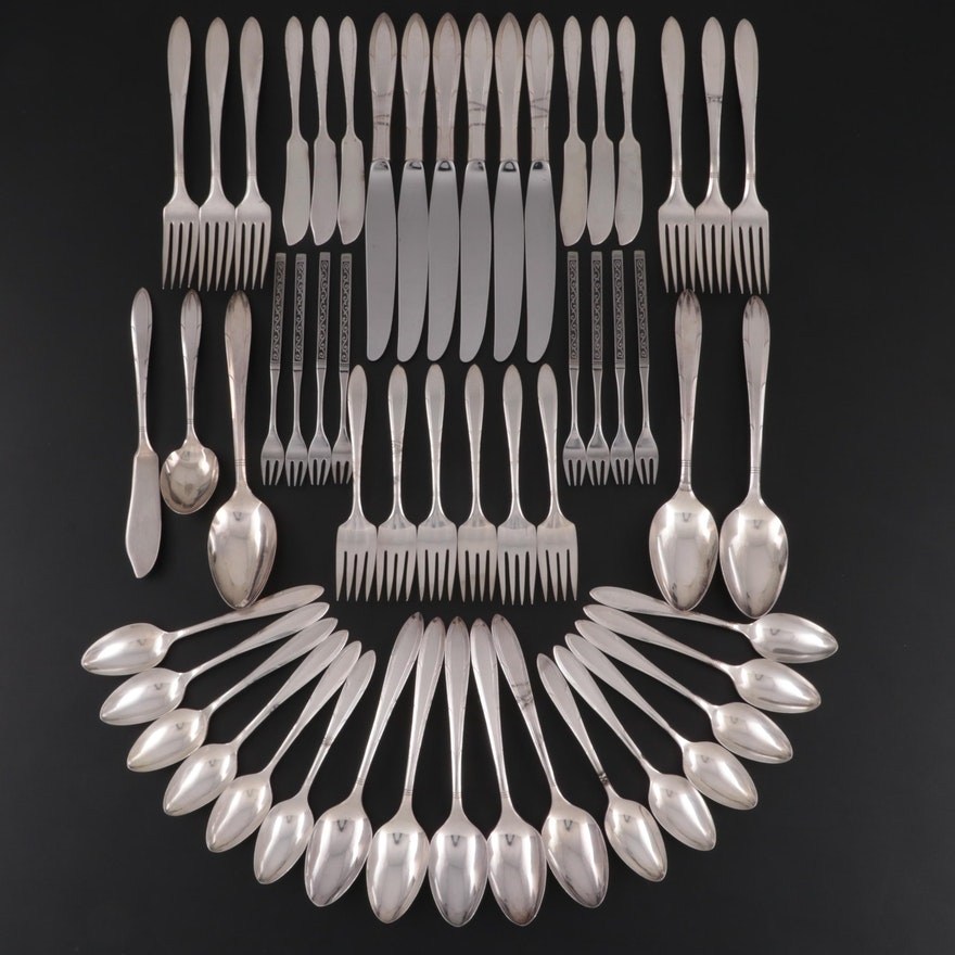 "Nobility Silver Plate ""Reverie"" Flatware, 1937"