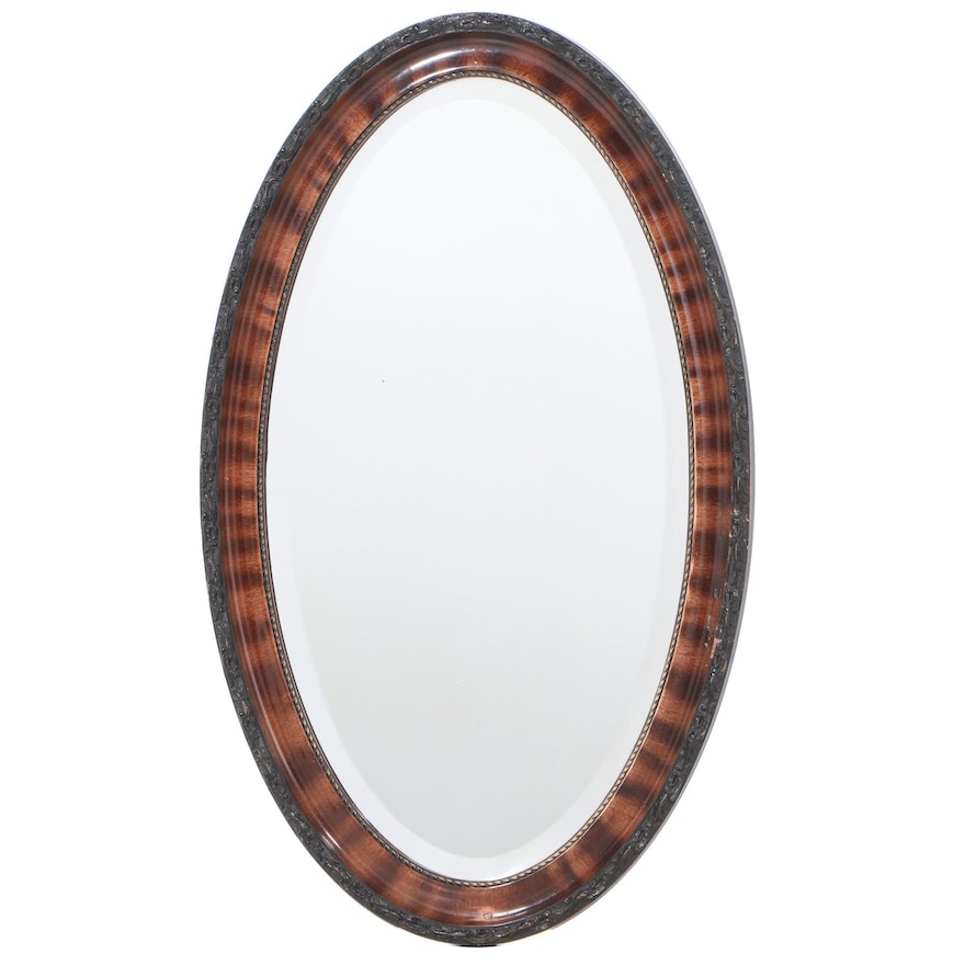 American Grain-Painted Composite Mirror, Late 19th/Early 20th Century