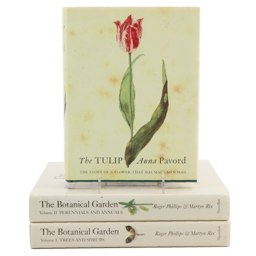 """""""The Tulip"""" with """"The Botanical Garden"""" Two-Volume Set, 1999–2002"""