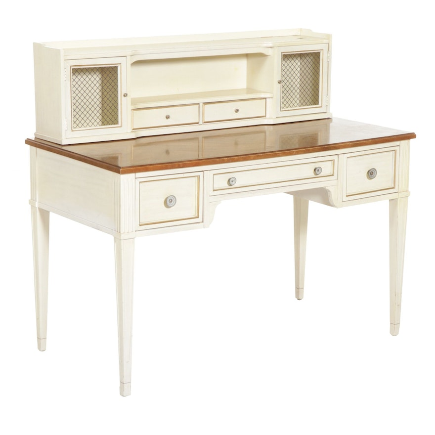 American of Martinsville Vanity Table, Late 20th Century
