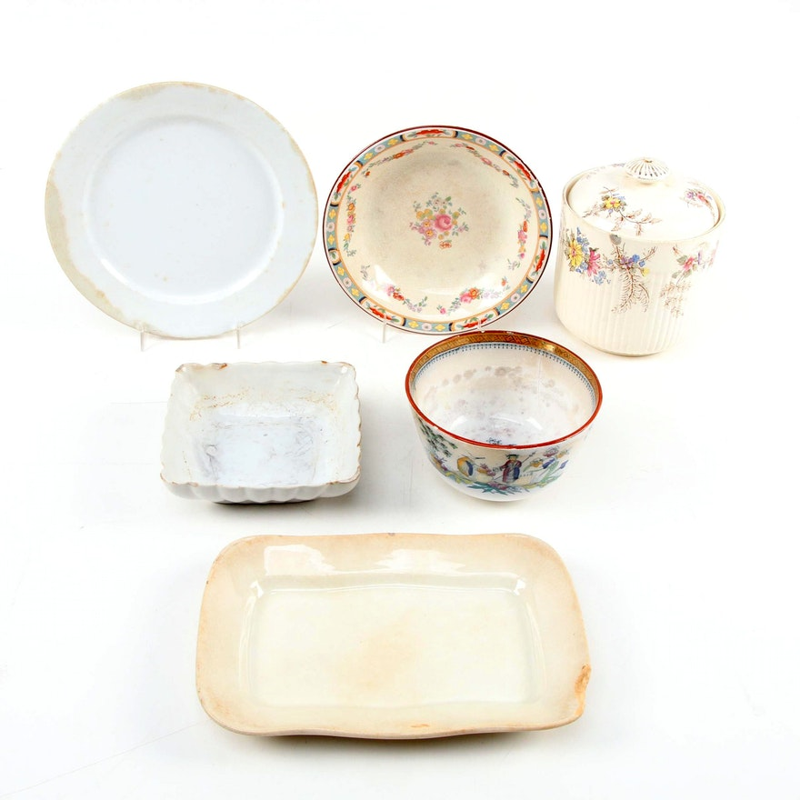 English and American Ironstone Tableware, Late 19th Century