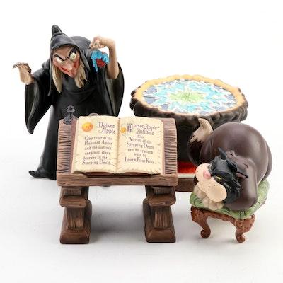 "Walt Disney Classics ""Cinderella"" and ""Snow White"" Character Figurines"