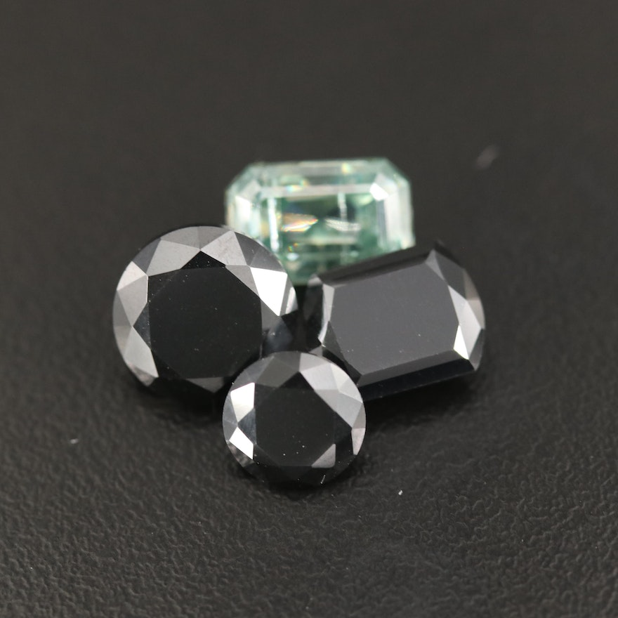 Loose Faceted Moissanites