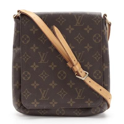 Louis Vuitton Musette Salsa Flap Bag in Monogram Canvas