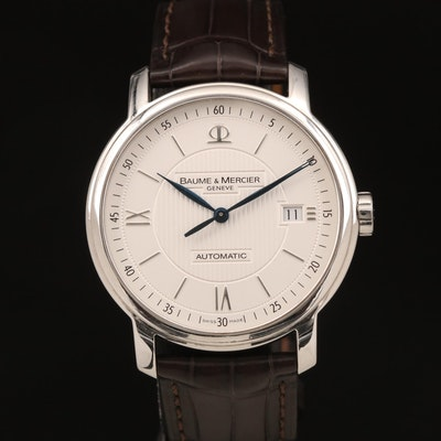 Baume & Mercier Classima Executives Stainless Steel Automatic Wristwatch