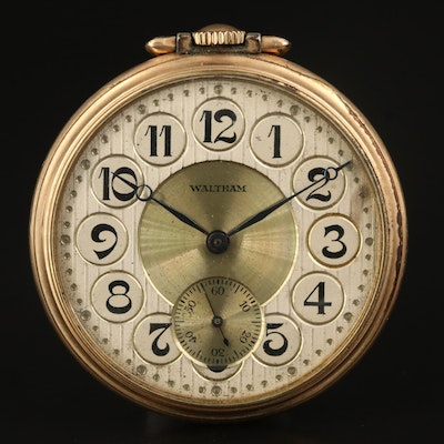 1927 Waltham Size 12 Pocket Watch