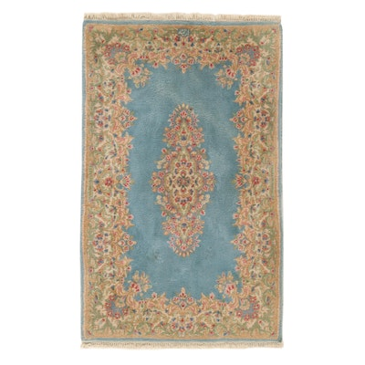 3 x 4'11 Hand-Knotted Persian Kerman Rug, 1970s