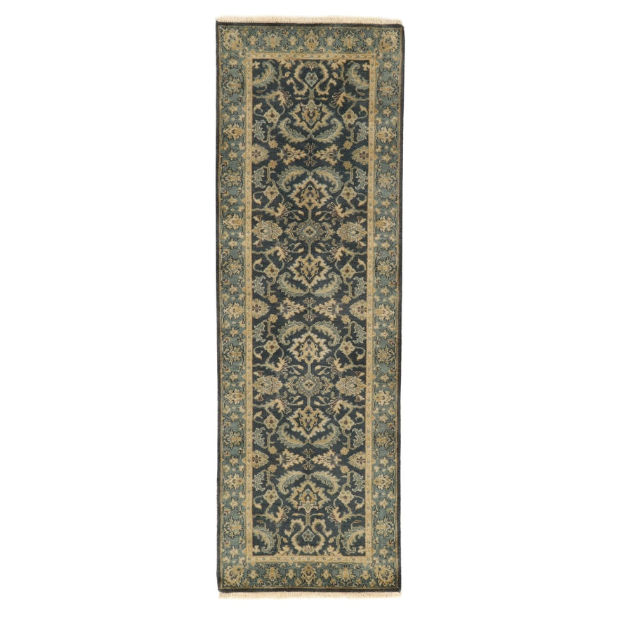 """2'8 x 8'4 Hand-Knotted Momeni """"Shalimar"""" Collection Carpet Runner, 2010s"""