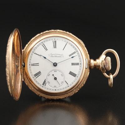 1896 American Waltham Hunting Case Pocket Watch