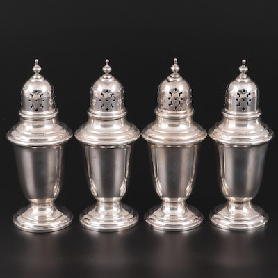 "Gorham ""Puritan"" Sterling Silver Shakers"