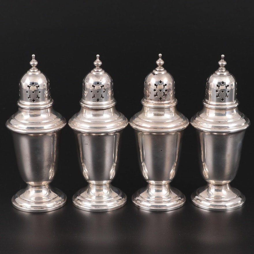 "Gorham ""Puritan"" Sterling Silver Shakers"