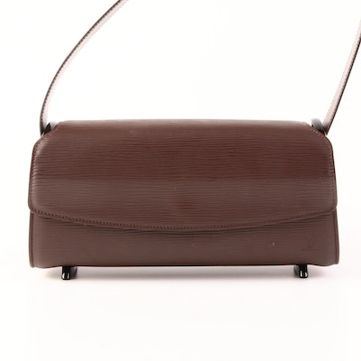 Louis Vuitton Nocturne PM in Mocha Epi and Smooth Leather