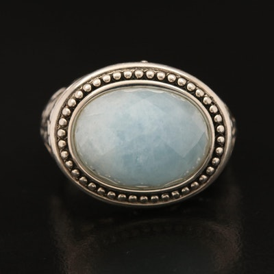 SeidenGang Sterling Beryl Ring