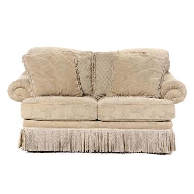 Schnadig Custom-Upholstered Loveseat