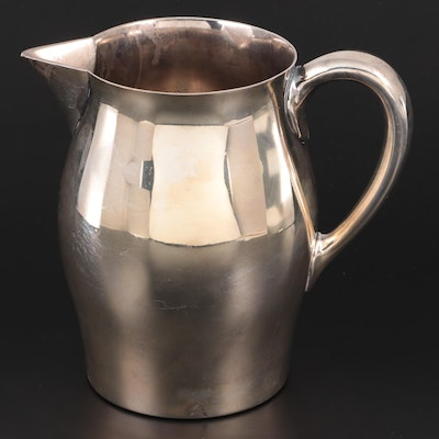 Reed & Barton Silver Plate Water Pitcher