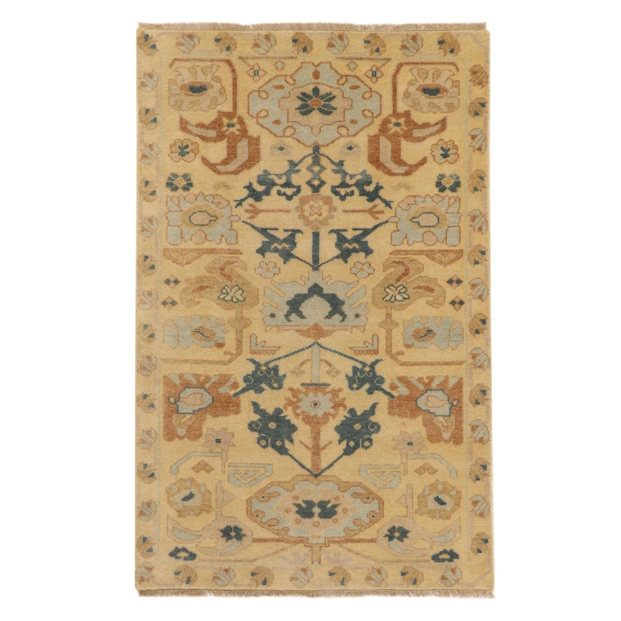 """5' x 8' Hand-Knotted Momeni """"Kouang"""" Collection Rug, 2010s"""