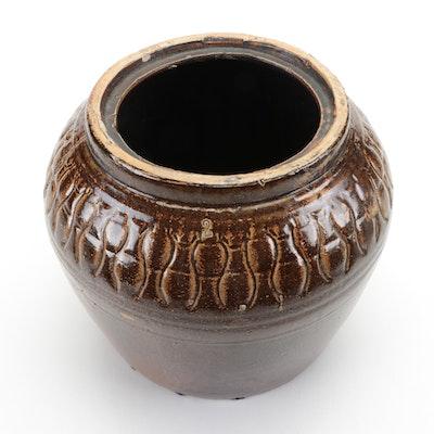 Salt Glazed Stoneware Two-Gallon Crock, Late 19th/Early 20th Century