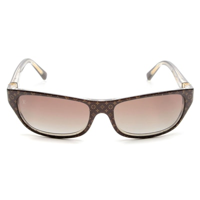 Louis Vuitton Monogram Z0021W Rectangular Sunglasses