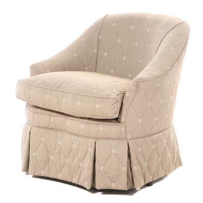 Fairfield Custom-Upholstered Swivel-Rocking Armchair