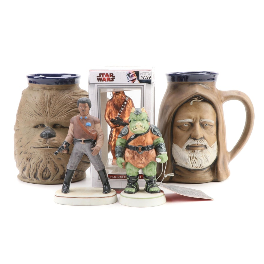 """Sigma """"Return of the Jedi"""" Figurines, Rumph Pottery Mugs and Other Ornament"""