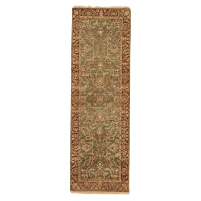 2'6 x 8'1 Afghan Persian Tabriz Wool Carpet Runner, 2010's