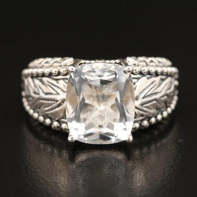 SeidenGang Sterling Quartz Ring